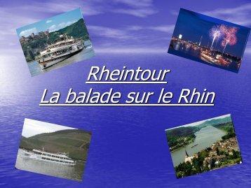 Rheintour La balade sur le Rhin