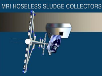 Hoseless sludge collectors