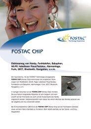 FOSTAC CHIP Broschüre (PDF) - MAXIMUSenergie.de