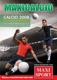 Scopri il nuovo catalogo Maxicalcio - Maxi Sport Merate