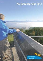 79. Jahresbericht 2012 - Zürcher Wanderwege