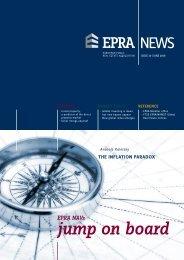 EPRA NAVs: Jump on board