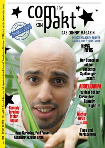 ABDELKARIM - Wir sind Comedy - Comedy kompakt!