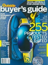 Outside Buyer's Guide Winter 2012-2013 - Wenger