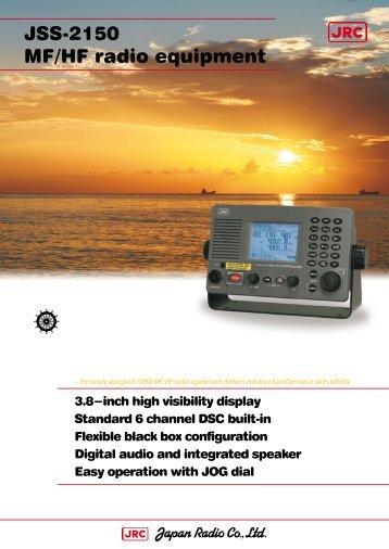 MF/HF radio equipment JSS-2150 - Jrc