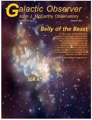 alactic Observer - John J. McCarthy Observatory