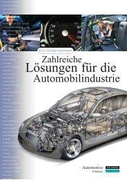 DowCorning® Zahlreiche Lösungen für die Automobilindustrie (deu.)