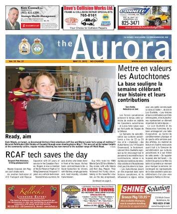 May 21 2012 - The Aurora Newspaper