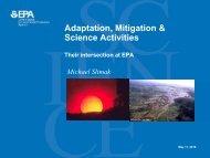 Adaptation, Mitigation & Science Activities