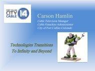 Carson Hamlin Presentation - NATOA