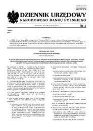 Uchwała nr 1/2002 Komisji Nadzoru Bankowego z dnia 10 stycznia ...