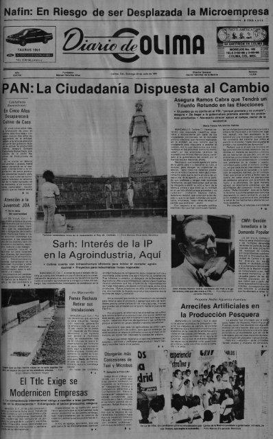 Pan La Ciudadanãƒâa Dispuesta Al Cambio Universidad De Colima