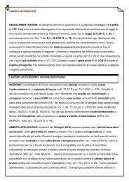 Lavoro accessorio - UIL Basilicata