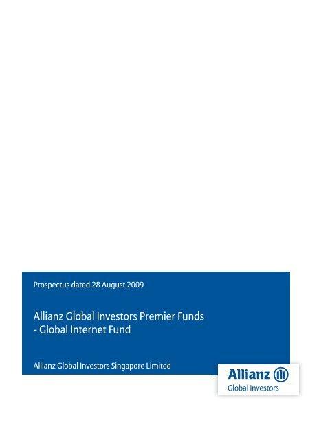 Allianz Global Investors Premier Funds - Fundsupermart.com
