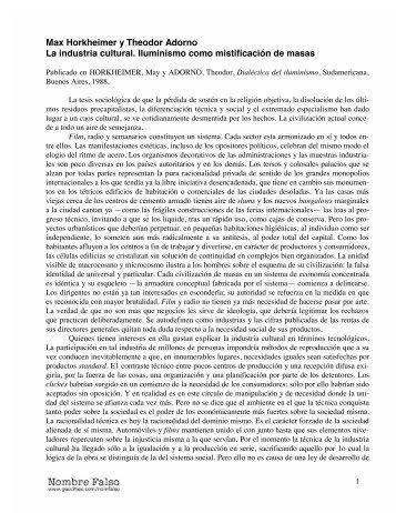 estado autoritario horkheimer pdf