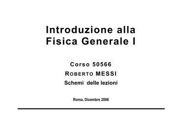 Introduzione alla Fisica Generale I - STOQ