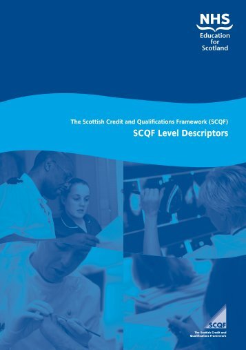 SCQF Level Descriptors - Scottish Credit and Qualifications ...
