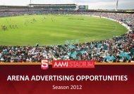 ARENA ADVERTISING OPPORTUNITIES - sanfl