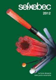 Catalogo SEFXEBEC 2012 - SEF meccanotecnica