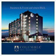 weitere Informationen - Columbia-Hotels
