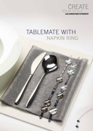 TABLEMATE WITH - Create Your Style