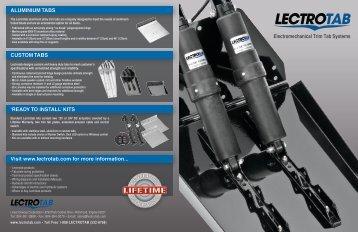 Lectrotab Sales Brochure