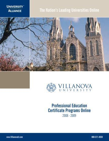 Professional Education Certificate Programs Online - National ...
