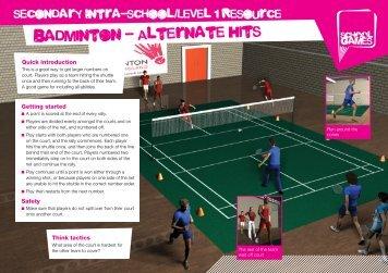 Badminton - School Games