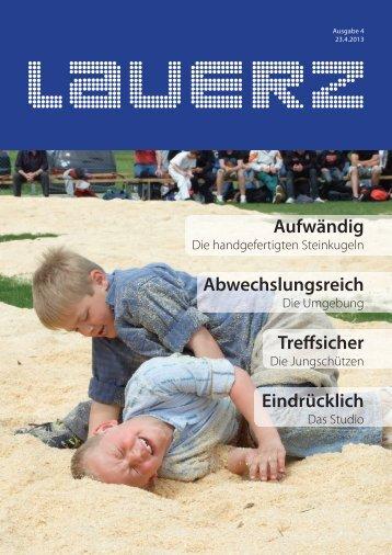 Aufwändig Abwechslungsreich Tre sicher ... - Gemeinde Lauerz
