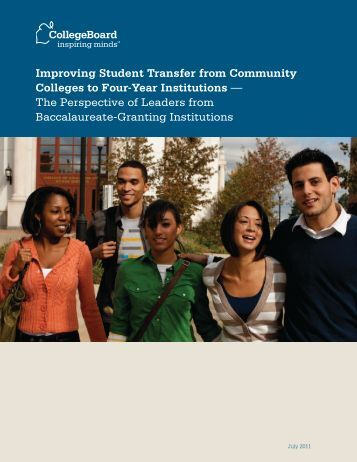 Improving Student Transfer from Community Colleges to Four-Year ...