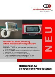 ESL - Oechsle Display Systeme GmbH