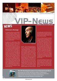 News - VIP-Booking