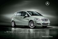 The B-Class with Fuel Cell Electric Drive ... - Mercedes-Benz USA