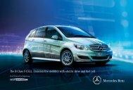 Download the B-Class F-Cell Brochure - Mercedes-Benz USA