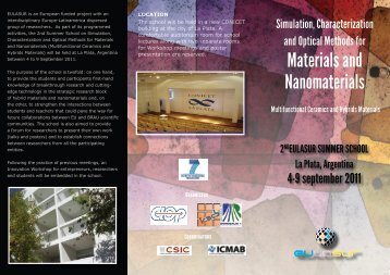 Materials and Nanomaterials - icmab