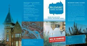 Imageflyer Wasserkunst Elbinsel Kaltehofe - Wasserkunst-Hamburg