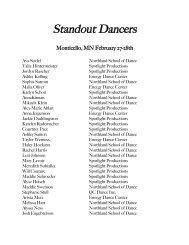 Standout Dancer List 2010 .cwk - Midwest Starz