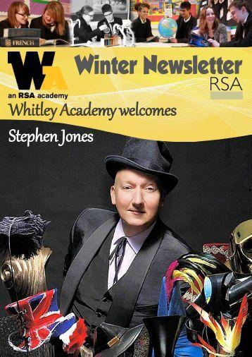 Winter Newsletter 2011 - Whitley Academy