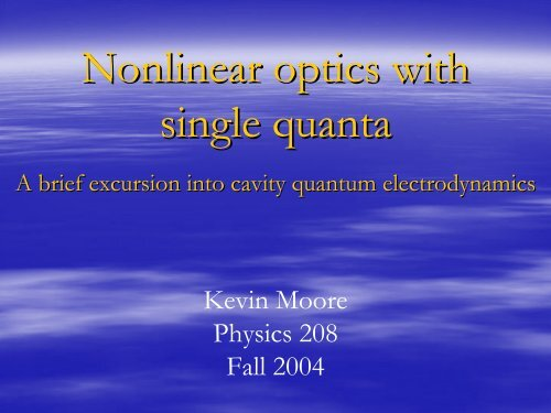 Nonlinear optics with single atoms
