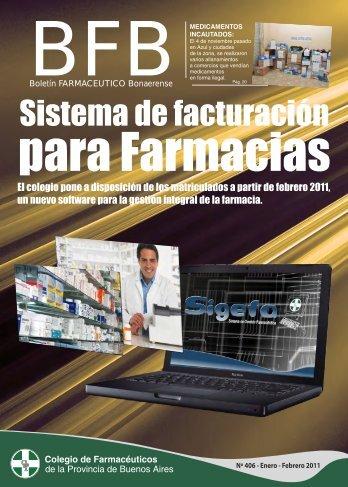 boletín farmacéutico bonaerense nro 406 - Colegio de ...