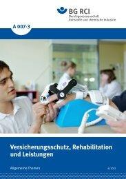 Imagebroschüre A007-3 - Berufsgenossenschaft Rohstoffe und ...