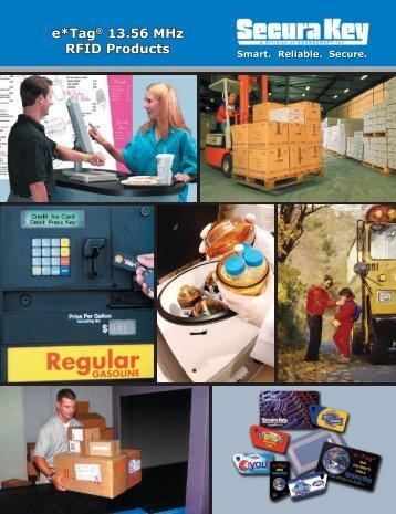 e*Tag ® 13.56 MHz RFID Products Brochure - Secura Key