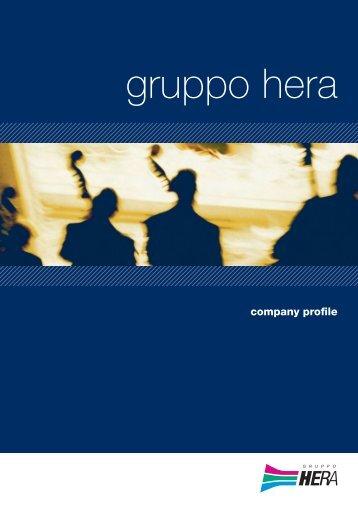 3938 Kb - PDF - Il Gruppo Hera