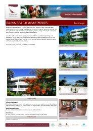 RAINA BEACH APARTMENTS - JULY 2012 - Island Hopper Vacations