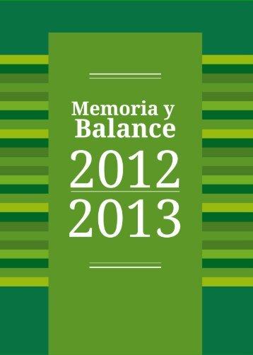 Memoria y balance 2012-2013 ISSUU.pdf