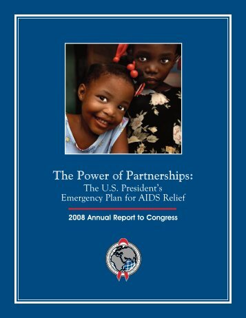 The Power of Partnerships - 2008 (PDF 5.9MB) - South Africa