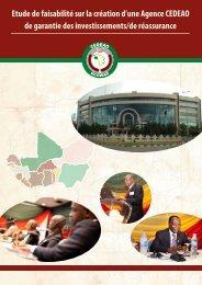 Etude de faisabilité sur la création d'une Agence CEDEAO de ...