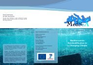 Mediterranean Sea Acidification in a Changing ... - MedSeA Project