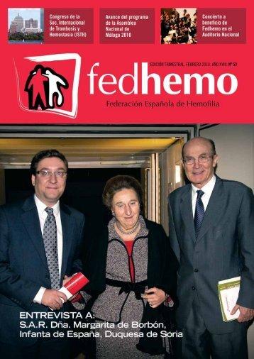 Revista Fedhemo Nº 53 - Hemofilia