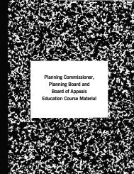 Planning Commission Education Course Materials - Maryland ...